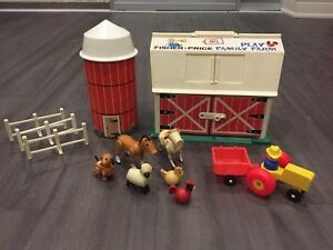 Vintage Fisher Price Play Farm