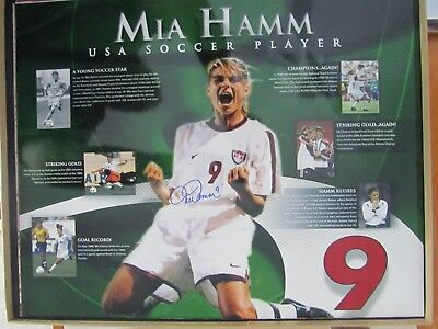 sale retailer 2f69f 9e287 Mia Hamm Autograph for sale | Only 3 left at -75%