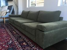 Super comfy designer 3.5 seater sofa. Vaucluse Eastern Suburbs Preview