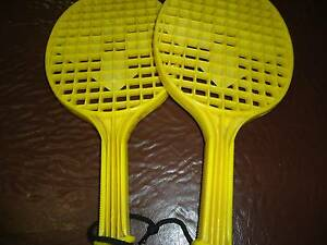 Yellow plastic rackets East Ipswich Ipswich City Preview