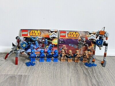 Lego Star Wars 75088 Genesis Troopers & 75089 Senate Commando Troopers