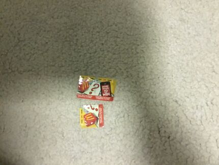 McDonald's monopoly tickets