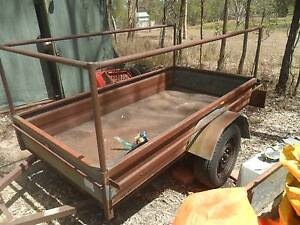 TRAILER 9X4 WITH ROLL CAGE LARGE TRAILER Brisbane City Brisbane North West Preview