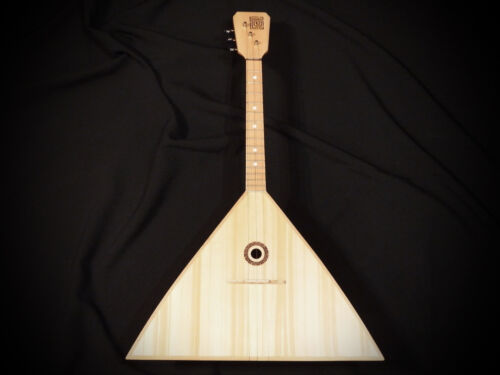 Balalaika 3 Strings Shamanic ST3 Great work of Russian master Beautiful sound