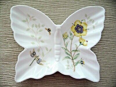 Lenox Louise Le Luyer Butterfly Meadow Candy Nut Trinket Dish