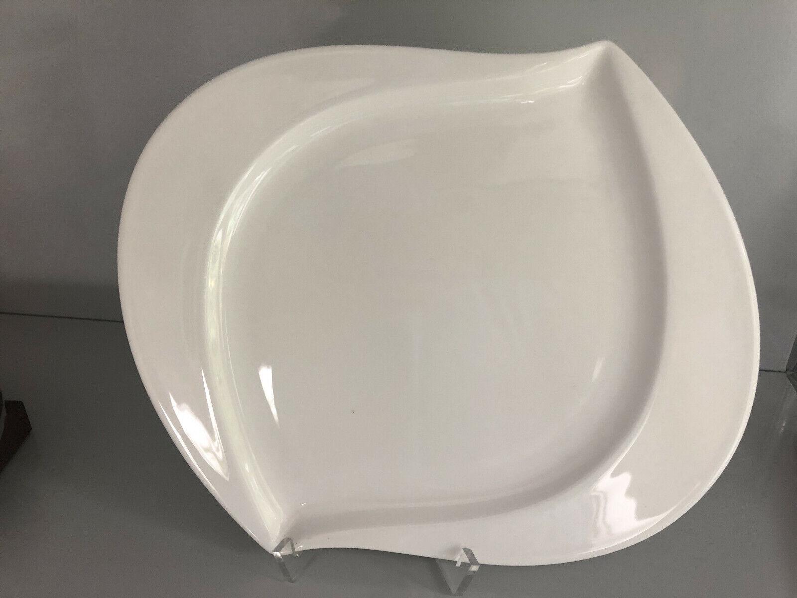 Hutschenreuther LUNA Weiß FRÜHSTÜCKSTELLER 24 cm ungenutzt Plate