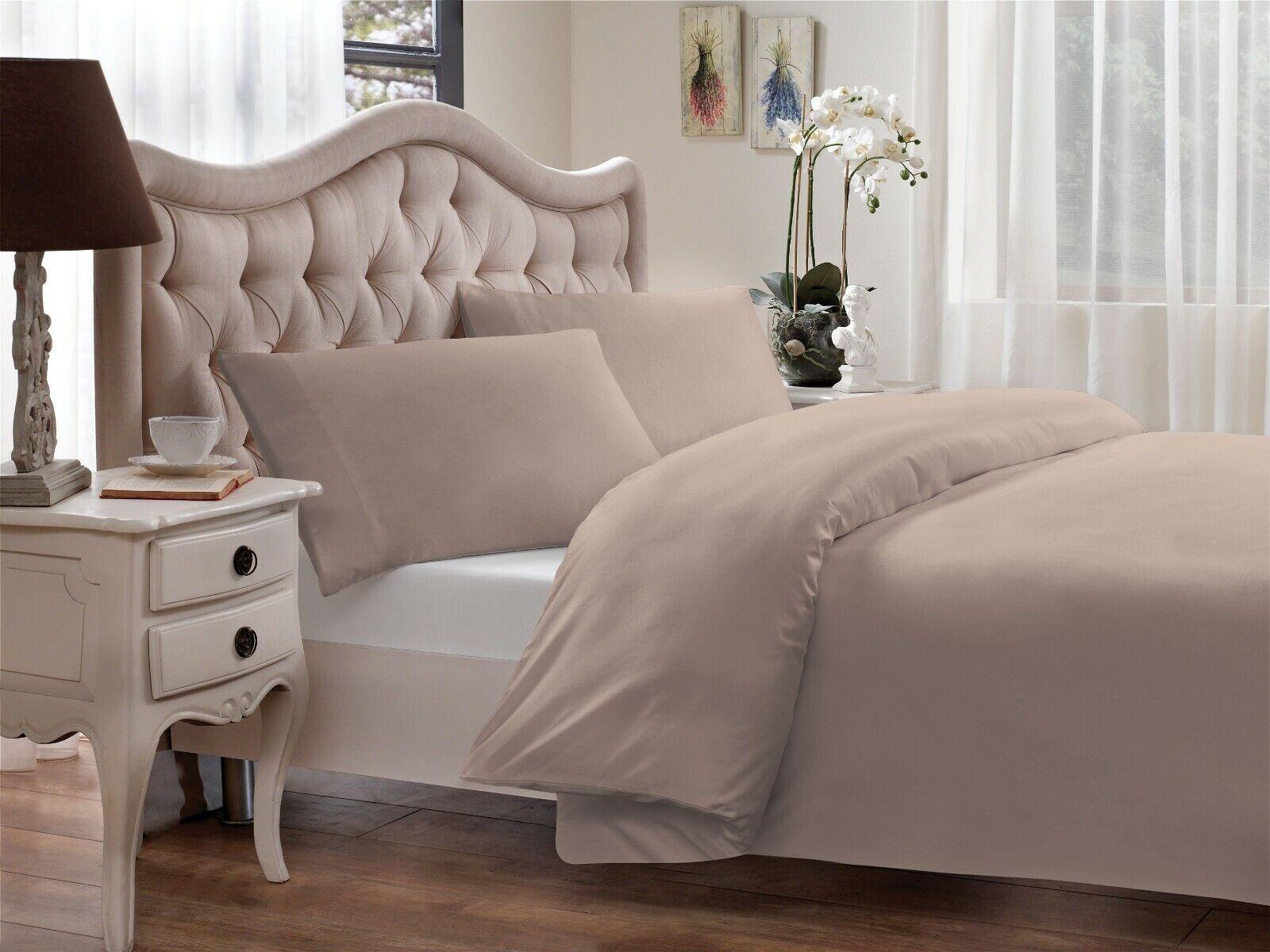 Home 100% Modal Percale 300 Thread Count Duvet Cover Set Bedding