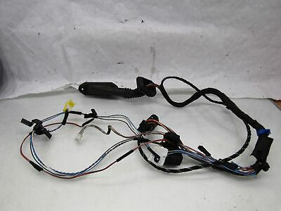 BMW 5 series E39 95-03 530D LH left front door wiring harness connectors spares