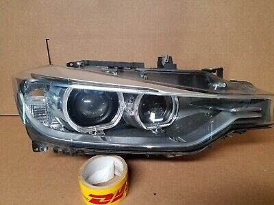 2012-2015 BMW 3 SERIES HID XENON RIGHT HEADLIGHT HOUSING ONLY N12143