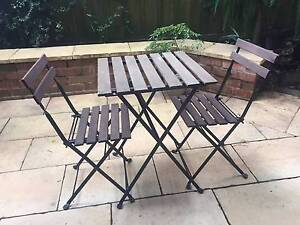 Small garden furniture set - 2 person Neutral Bay North Sydney Area Preview