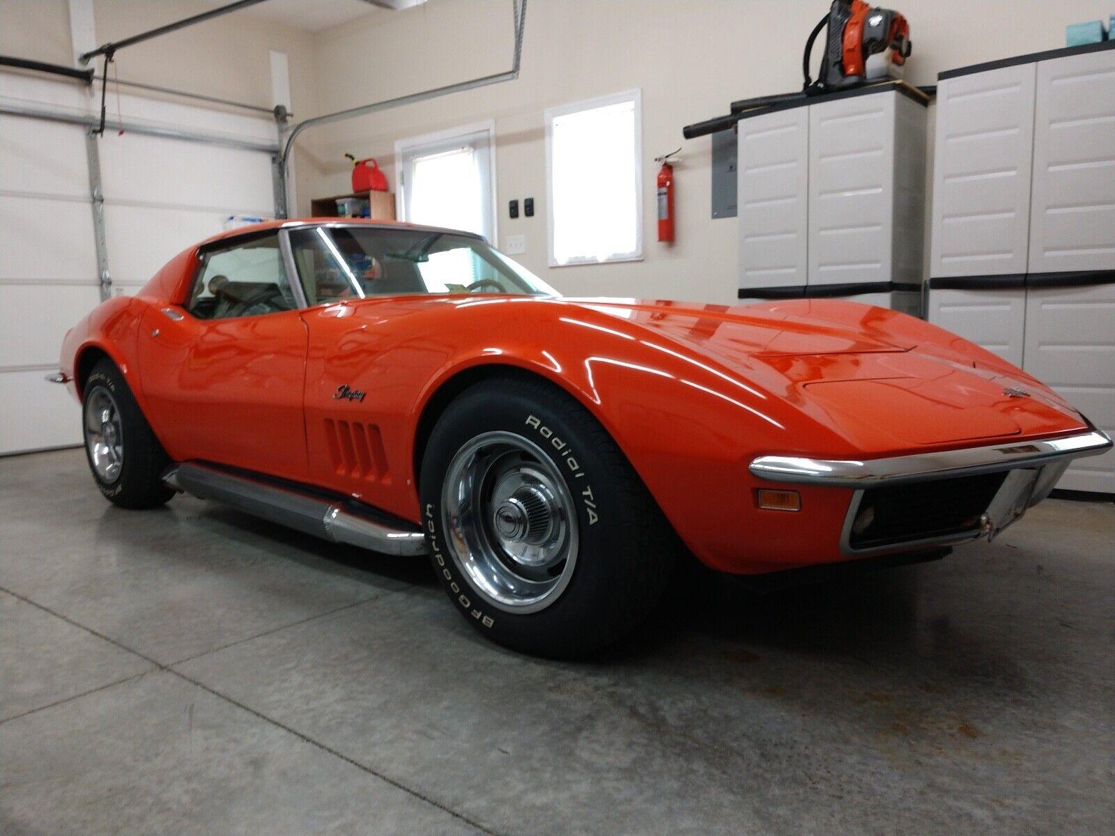 1969 Monaco Orange Chevrolet Corvette Stingray    C3 Corvette Photo 1
