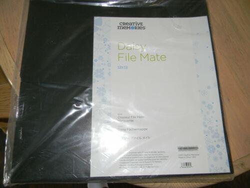 NIP - Creative Memories Daisy File Mate 12x12