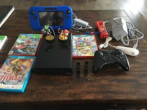 WII U - Complete Set Up - Missing Sensor Bar