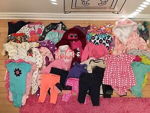 Baby Girl (3M - 6M) - 65 pieces, with snowsuit
