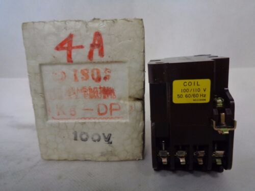 NEW HITACHI K6-DP AC CONTACTOR 100/110 V COIL