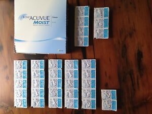 1 Day Acuvue Moist Contact Lenses -2.75 & Glasses