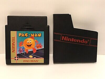Tengen Pac Man For NES CLEANED TESTED Nintendo Entertainment System Cartridge