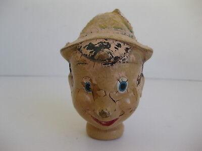 Antique Pinocchio Marionette Head Only for sale  Las Vegas