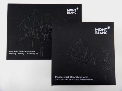 Montblanc Meisterstück Special Edition 149 Elbphilarmonie 2017 Essential Moment