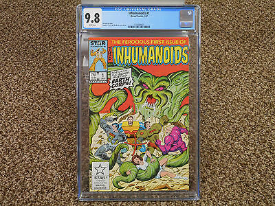 Inhumanoids 1 cgc 9.8 Marvel Star comics 1st appearance 1987 Hasbro figure NM TV