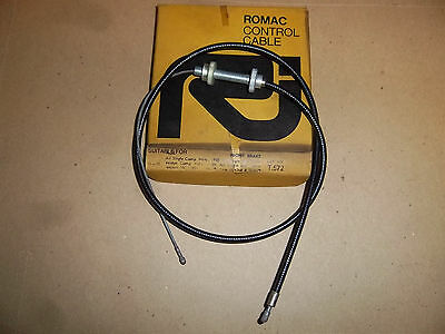 AMC ALL SINGLES  TWINS FRONT BRAKE CABLE 1958 02 4368 02 3679 UK MADE NOS T572
