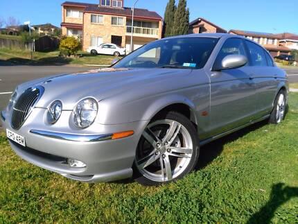 2003 Jaguar S Type Sedan Bossley Park Fairfield Area Preview