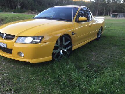 Holden Vz svz manual ute wrecking