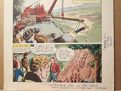 ::Big Red ONE FALSE MOVE International Harvester Promo WORKING PROOF 1952 Comic IH