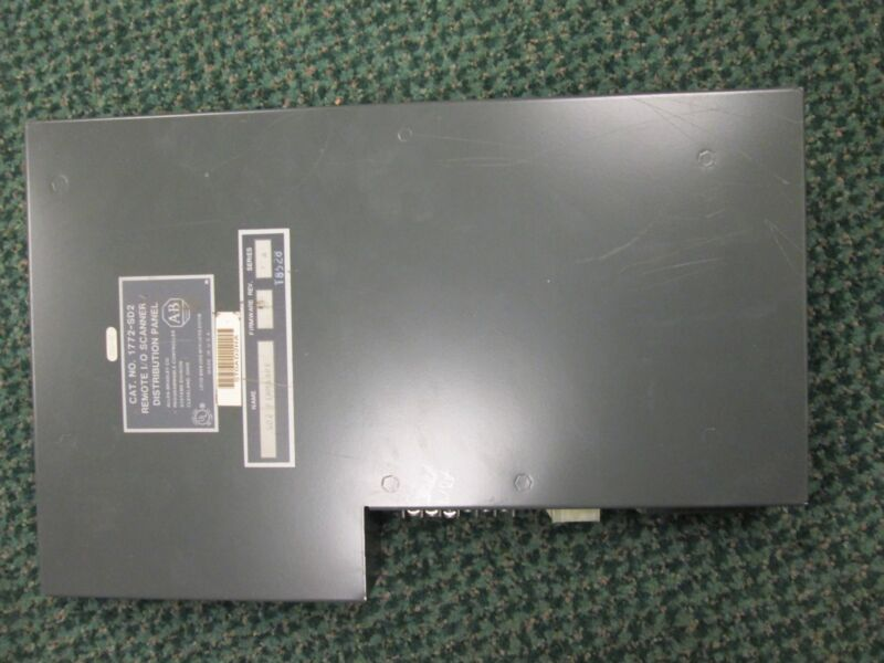 Allen-Bradley Remote I/O Scanner Distribution Panel 1772-SD2 Used