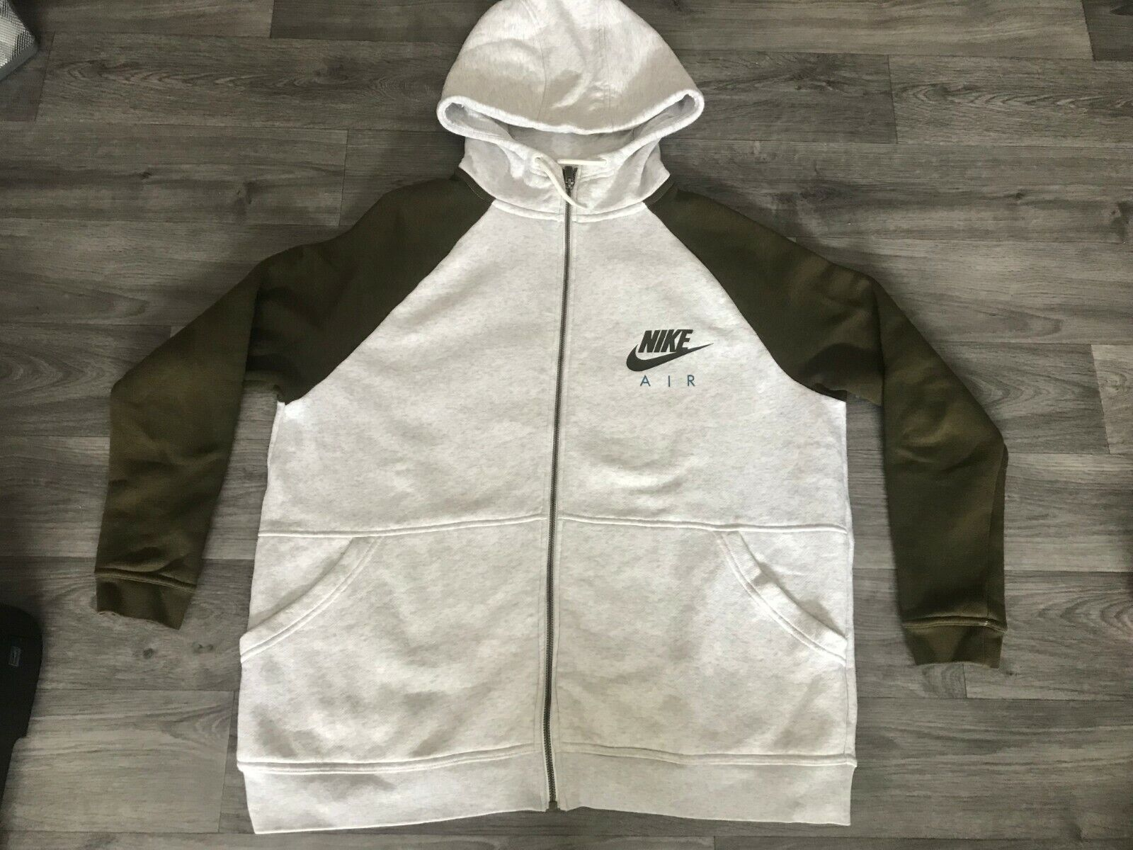 Sweat zippe nike air taille l gilet pull