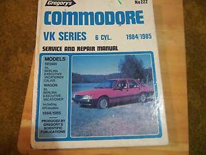 COMMODORE  WORKSHOP  MANUAL Ashgrove Brisbane North West Preview