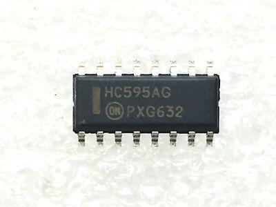 Mc74hc595adg On Semi Ic Shift Register 8bit 16-soic Rohs 10 Pieces