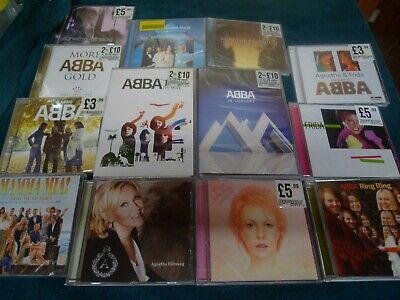 ABBA CD Albums Collection-Plus Solo Albums-11 Albums Sealed 1 DVD New & Sealed
