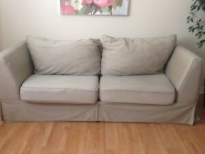 Tan/Beige Couch and Love Seat set