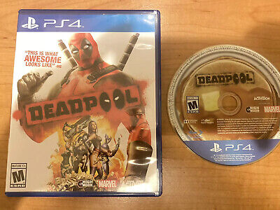 Deadpool (Sony PlayStation 4, 2015) PS4 Game