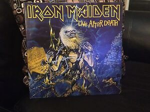 IRON MAIDEN LIFE AFTER DEATH LP