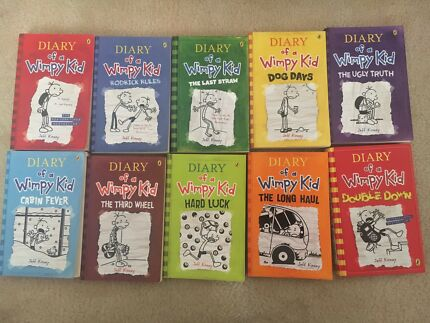 Diary of a wimpy kid book series childrens books gumtree diary of a wimpy kid book series solutioingenieria Images