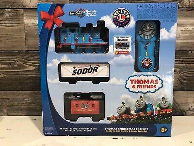 Lionel 6-95324 Thomas Christmas Freight O Gauge Train Set Lion Chief Bluetooth