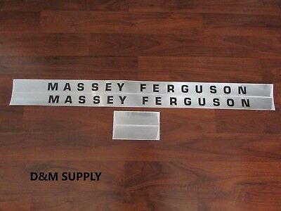 Massey Ferguson 135 tractor decal set gas 1215-1043 for sale  Shipping to India