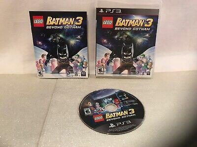 LEGO Batman 3: Beyond Gotham (Sony PlayStation 3, PS3) Complete TESTED Free Ship