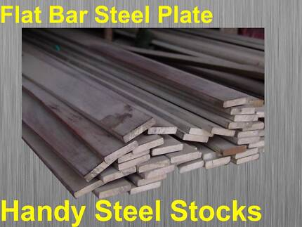 Steel Flat Bar 10mm to 300mm Width - 3mm to 25mm Thick