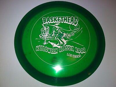 New 2002 RARE Innova Champion Gazelle Fairway Halloween Stamp 159g Disc Golf - Innova Halloween Discs