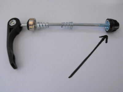 Cycle Front or Rear Fit Quick Release STD WHEEL SKEWER anti slip SKEWER END NUT