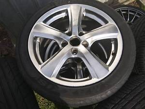 "MAZDA FORD ANZ 17x8"" 5x114.3 ALLOY WHEELS Cranbourne West Casey Area Preview"