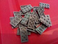 Lego Dark Bluish Grey 2x4 Plate X 21(3020) City Castle Star Wars Creator - lego - ebay.co.uk