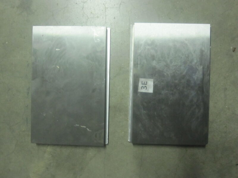 """2 New Press Brake dies Punch 4140 A B   8"""" long 3/4"""" 5-1/2"""" to 5"""" wide 1/4"""" Lip"""