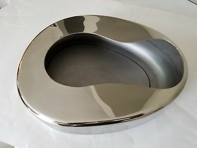 Stainless Steel Bedpan Surgical Dental Veterinary Instruments