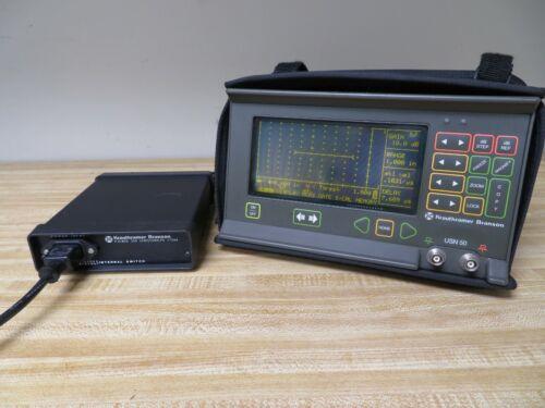 Krautkramer Branson USN 50 Ultrasonic Flaw Detector - Thickness Gage UT NDT OB10