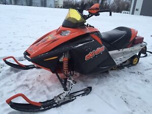 2003 Skidoo Rev 600HO trade for CRF 450
