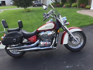 2008 HONDA SHADOW AERO VT750C 16,400 km MINT and CERTIFIED